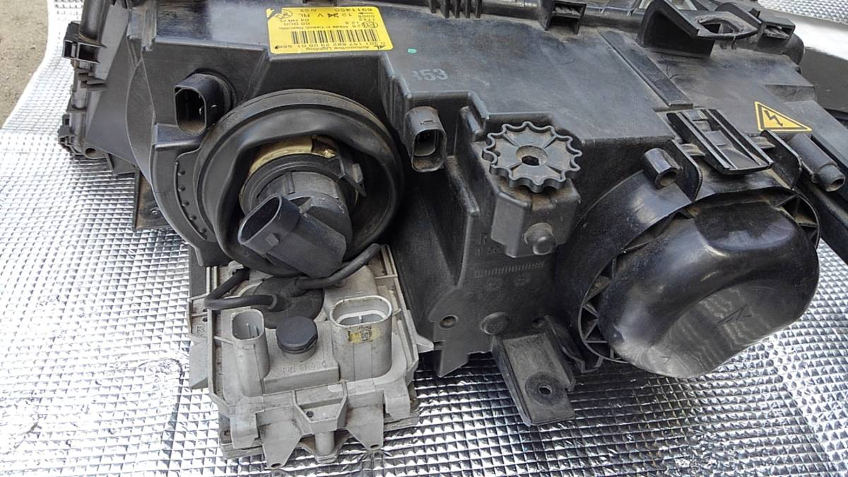 〓BMW E46 M3 CIクーペ 前期 純正 HID ヘッドライト 中古 左右セット プロジェクター キセノン 点灯確認〓_画像8