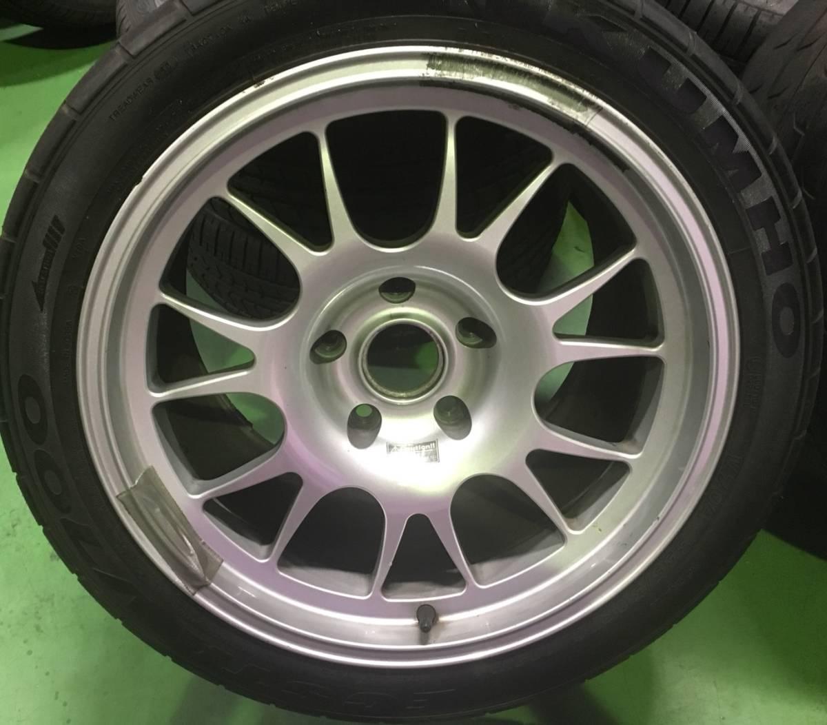 BBS製 ポルシェ 911 996 GT2用 18インチ マグネシウムホイール 4本SET 特注品 (207)_画像4