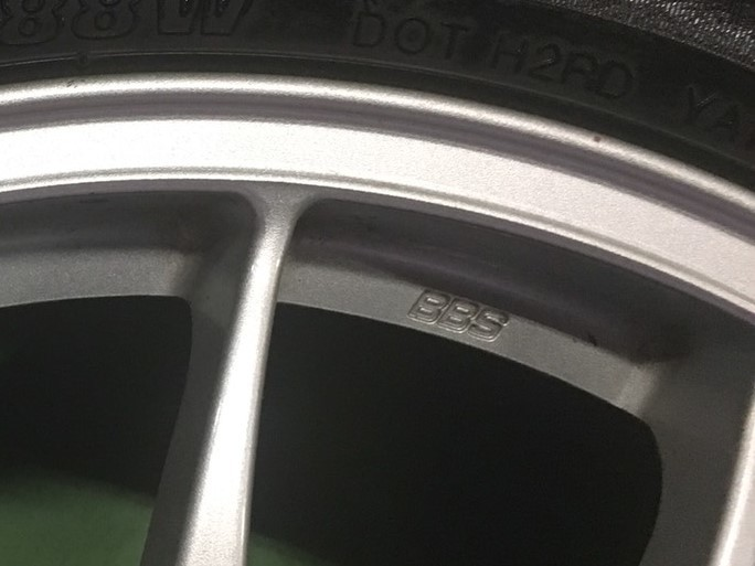 BBS製 ポルシェ 911 996 GT2用 18インチ マグネシウムホイール 4本SET 特注品 (207)_画像6