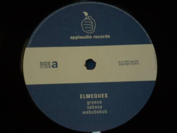 美品 ELMEQUES/ELMEQUES EP/GIFTED BY NATURE / HEY TONITE / 2002年盤 / APP004 / UK盤 / 試聴検査済み_画像3