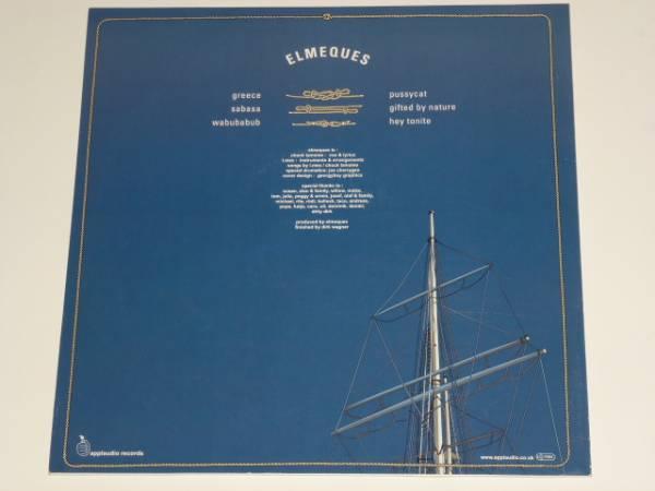 美品 ELMEQUES/ELMEQUES EP/GIFTED BY NATURE / HEY TONITE / 2002年盤 / APP004 / UK盤 / 試聴検査済み_画像2