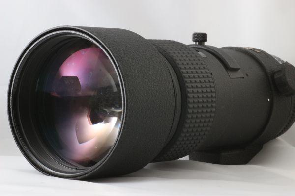 【動作品】 Nikon ED AF NIKKOR 300mm F/4 Lens ニコン Fマウント 望遠 一眼レフ カメラ レンズ 180711-01