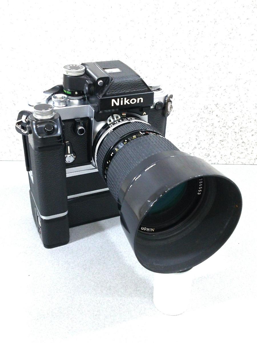 ニコンF2 A レンズ モードラ付き