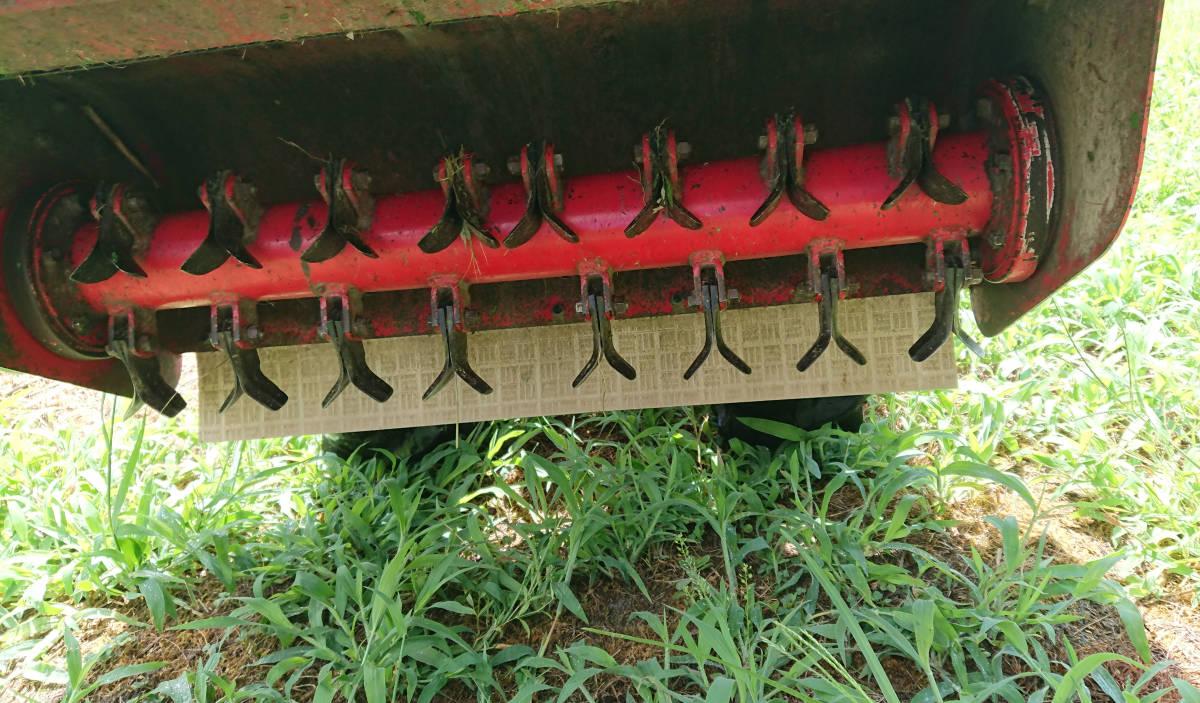 草刈機 ハンマーナイフ 9馬力 75㎝ 実働 _画像5