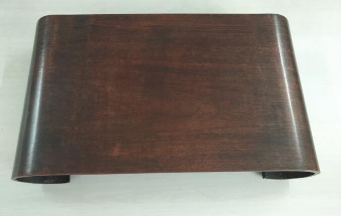 【琴》中国古玩 時代古唐木造巻き足台 時代品 極上品 ID07