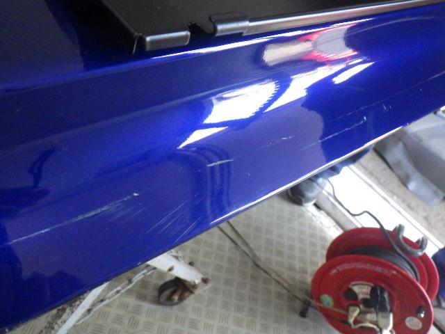 T9HN02 プジョー308 GTライン H29年 リアゲート バックドア ガラス欠品 マグネティックブルー 中古 即決_画像6