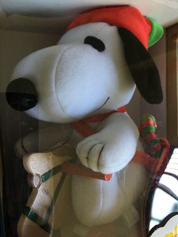 スヌーピーの木馬でスウィング クリスマス限定品 6個セット/1002_画像5
