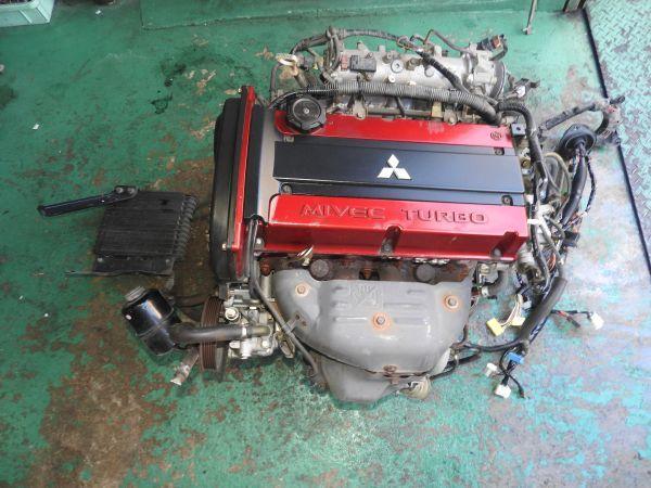 7 Ct9w Ct9a Evo 9 Original 4g63 Mivec Engine Assy Actual Work My