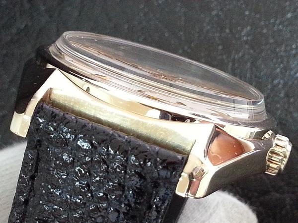 大野時計店 グランドセイコー 6145-8000 自動巻 1968年10月製造 金張  CAP GOLD 36000ビート 希少_画像4