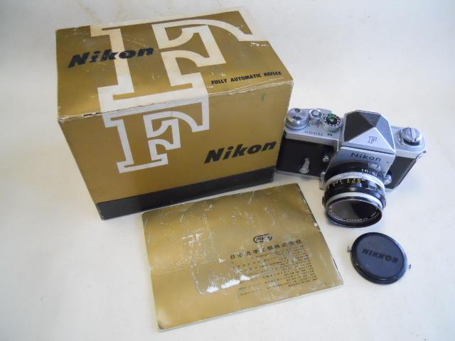 ニコンF 50/f2 元箱付き ジャンク品_画像4