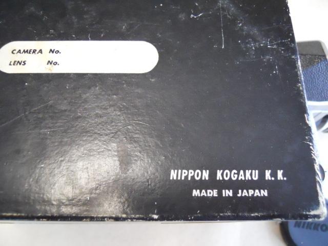 ニコンF 50/f2 元箱付き ジャンク品_画像3