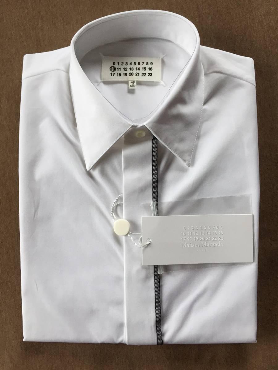 349705d1 39 new goods 67%off mezzo n Margiela long sleeve shirt 17SS size 39 S  Maison Margiela 10 Martin Margiela men's white