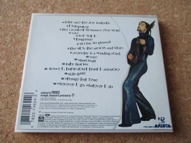 Prince/Rave Un2 The Joy Fantastic プリンス 99年 20世紀最後のアルバムにして、大傑作・大名盤♪ 国内盤 帯無し 特殊ケース仕様♪!廃盤_画像2