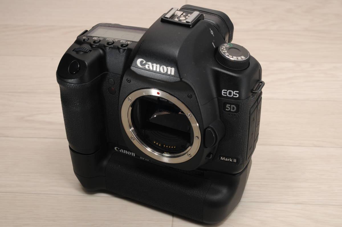 CANON キャノン EOS 5D Mark2 マークII ボディ BG-E6 バッテリーグリップ付
