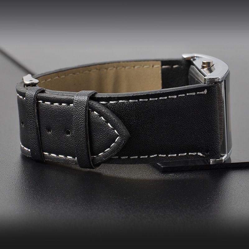 LEDデジタルウォッチ メンズ 生活防水 見やすい大画面液晶 腕時計 薄型液晶_画像4
