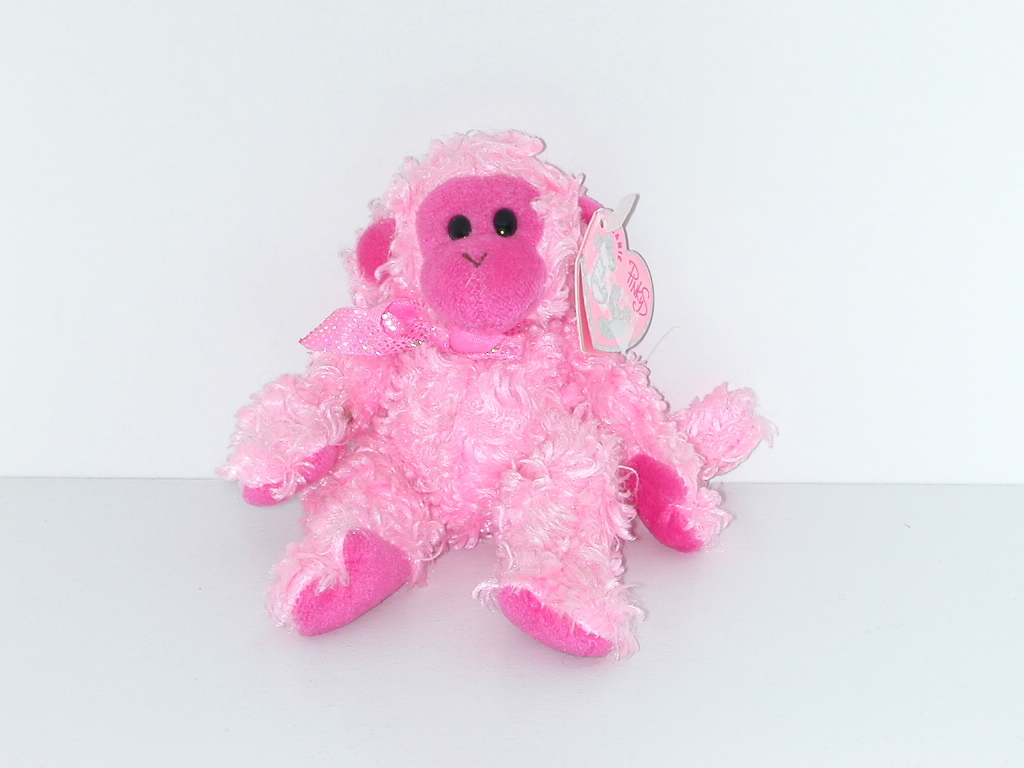 51b501821a1 prompt decision  Ty BEANIE BABIES PiNkyS Julep monkey   soft toy   Beanie  Bay Be Beanies   Pinky series   KK013