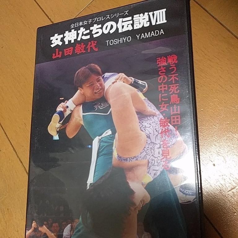 ☆DVDプロレス「全日本女子プロレスシリーズ女神たちの伝説8山田敏代」_画像1