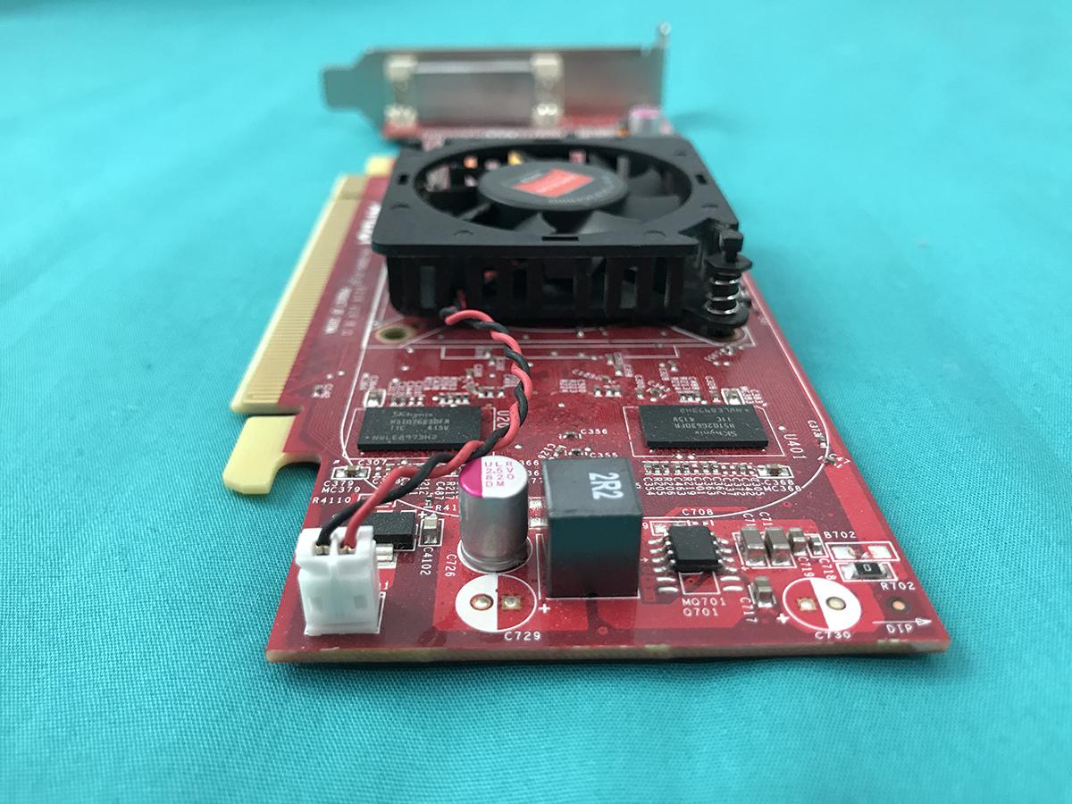 中古■HP AMD Radeon HD 8350 1G グラフィックボード 109-C09091-01 ロープロファイル★[分配ケーブルなし]★即決即納★送料無料_画像4