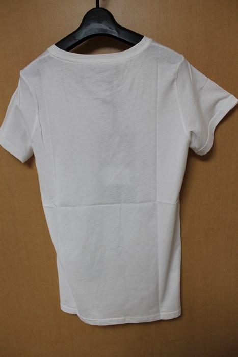 SUNDAY21 レディース半袖Tシャツ ホワイト Sサイズ イタリア製 新品_画像3