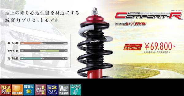 ネジ式 車高調 SUSTEC PRO CR ノア・ヴォクシー ZRR70W 2010年04月~2014年01月 タナベ CRZRR70WK_画像2