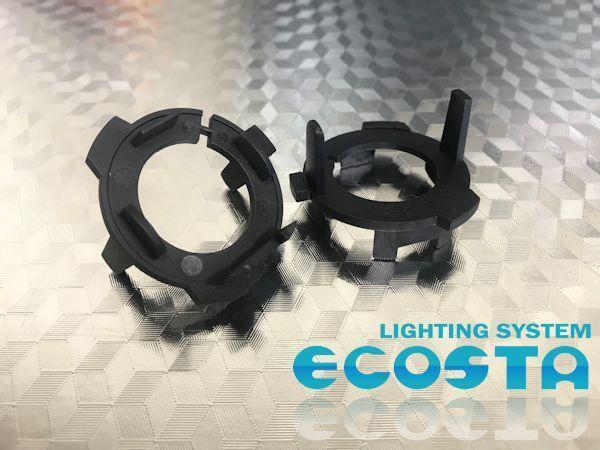 ECOSTA H7 バルブアダプター LED HID バルブ変換用アダプター 電球ホルダー ハロゲン バーナー_画像1