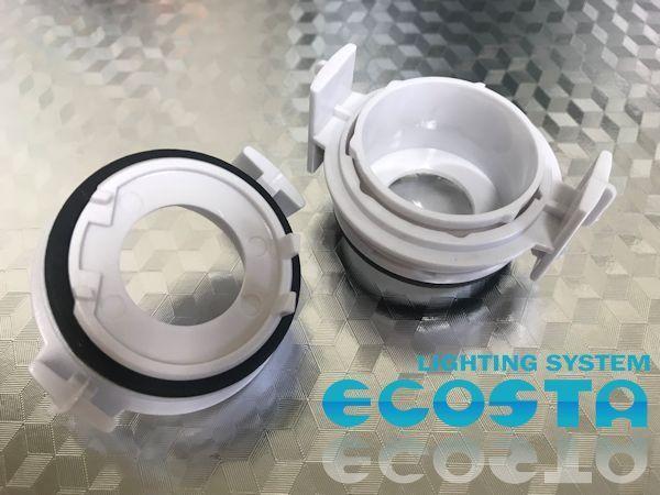 バルブアダプター BMW用 E46 E65 E90 ECOSTA H7 LED HID バルブ変換用アダプター 電球ホルダー ハロゲン バーナー_画像1