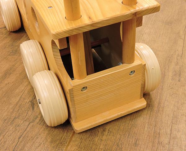 KOIDE/コイデ 汽車 ポッポ 木製 手押し おもちゃ 乗用玩具 乗り物 木のおもちゃ_画像6