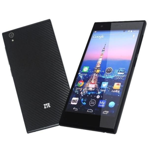 新品 ZTE Blade Vec 4G ブラック LTEモデル SIMフリー_画像1