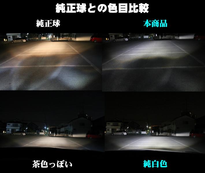 【送料無料】最強発光伝説HIDより明るい 16000LM LED ヘッド/フォグランプ H4 Hi-Lo/H8/H11/H16/HB3/HB4/PSX26/HIR2(9012) 新基準車検対応_画像9