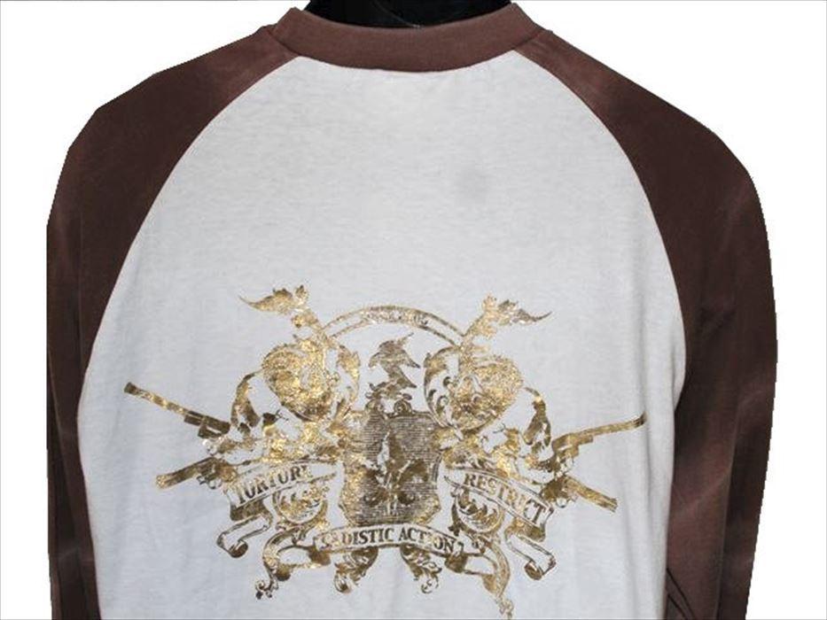 サディスティックアクション SADISTIC ACTION メンズ長袖Tシャツ Mサイズ NO6 新品_画像4