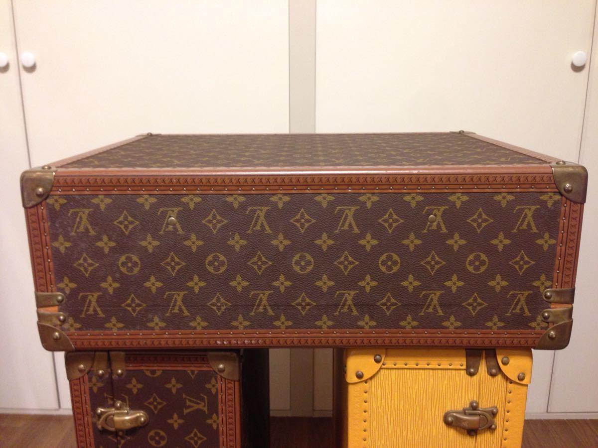 本物美品【ルイヴィトン】モノグラム トランクケース 旅行箱 コトヴィル50_画像5