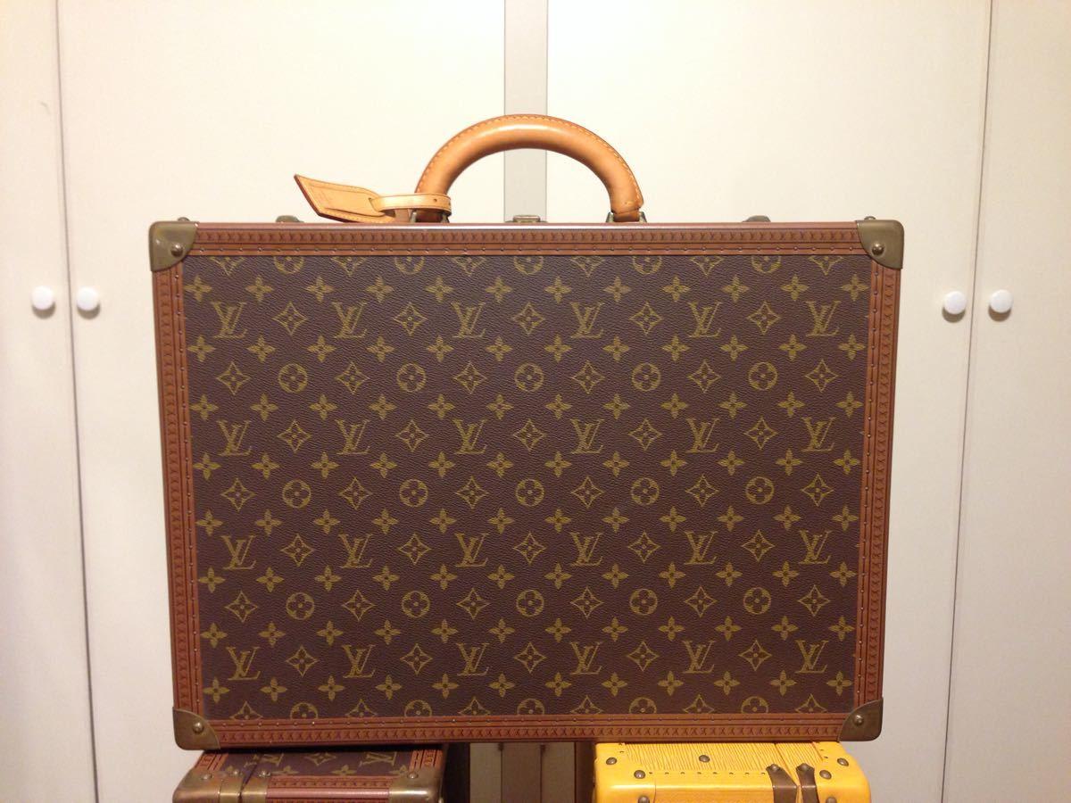本物美品【ルイヴィトン】モノグラム トランクケース 旅行箱 コトヴィル50_画像1