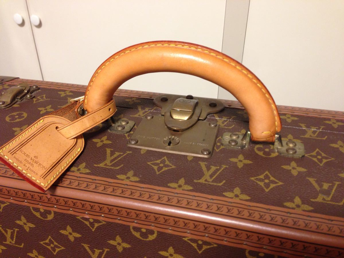 本物美品【ルイヴィトン】モノグラム トランクケース 旅行箱 コトヴィル50_画像4
