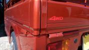art_ks1965 - 4WD ステッカー/// HIJET/ハイゼット トラック s500p s510p s210p s201p s211P リフトアップキット 2インチ 4インチ アゲトラ turbo