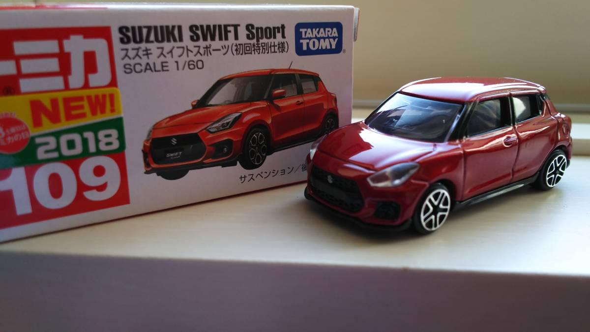 Tomica Suzuki Swift Sports [ the first times special