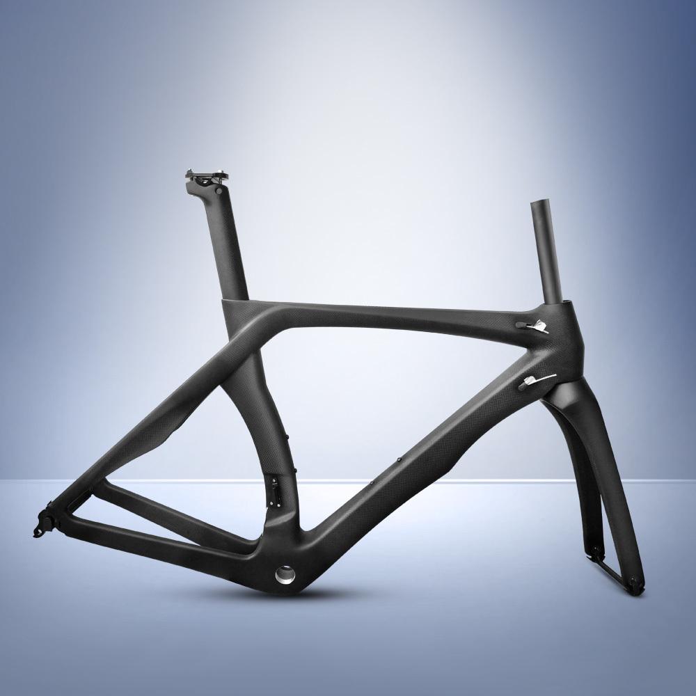 FM-015 ロードバイク フレームセット T1000  サイクリングフレーム カーボンファイバー 自転車フレーム_画像1