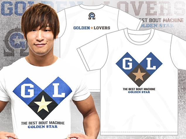 663da330bec079 ke knee Omega ... futoshi Golden * lovers T-shirt white M Golden ...
