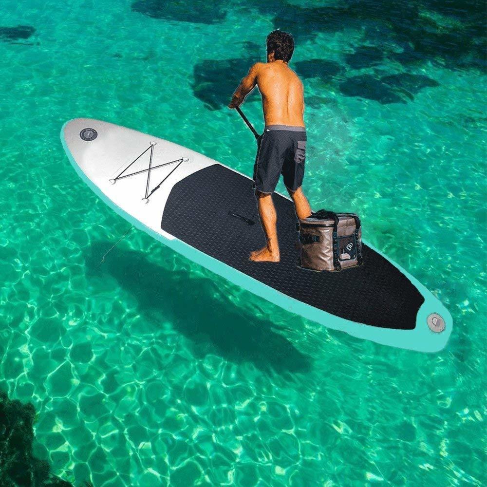 SUPインフレータブル スタンドアップパドルボード ヨガ 釣り マリンスポーツ インフレータブルサーフボード 安定性抜群 滑り止め _画像10