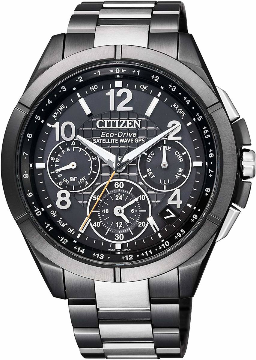 【新品】【残りわずか】[シチズン]CITIZEN 腕時計 ATTESA アテッサ エコ・ドライブGPS衛星電波時計 F900 CC9075-52E メンズ