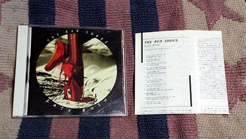 CD「レッド・シューズ」ケイト・ブッシュ Kate Bush 解説・歌詞・対訳付 正規国内盤 切手払可 送料込