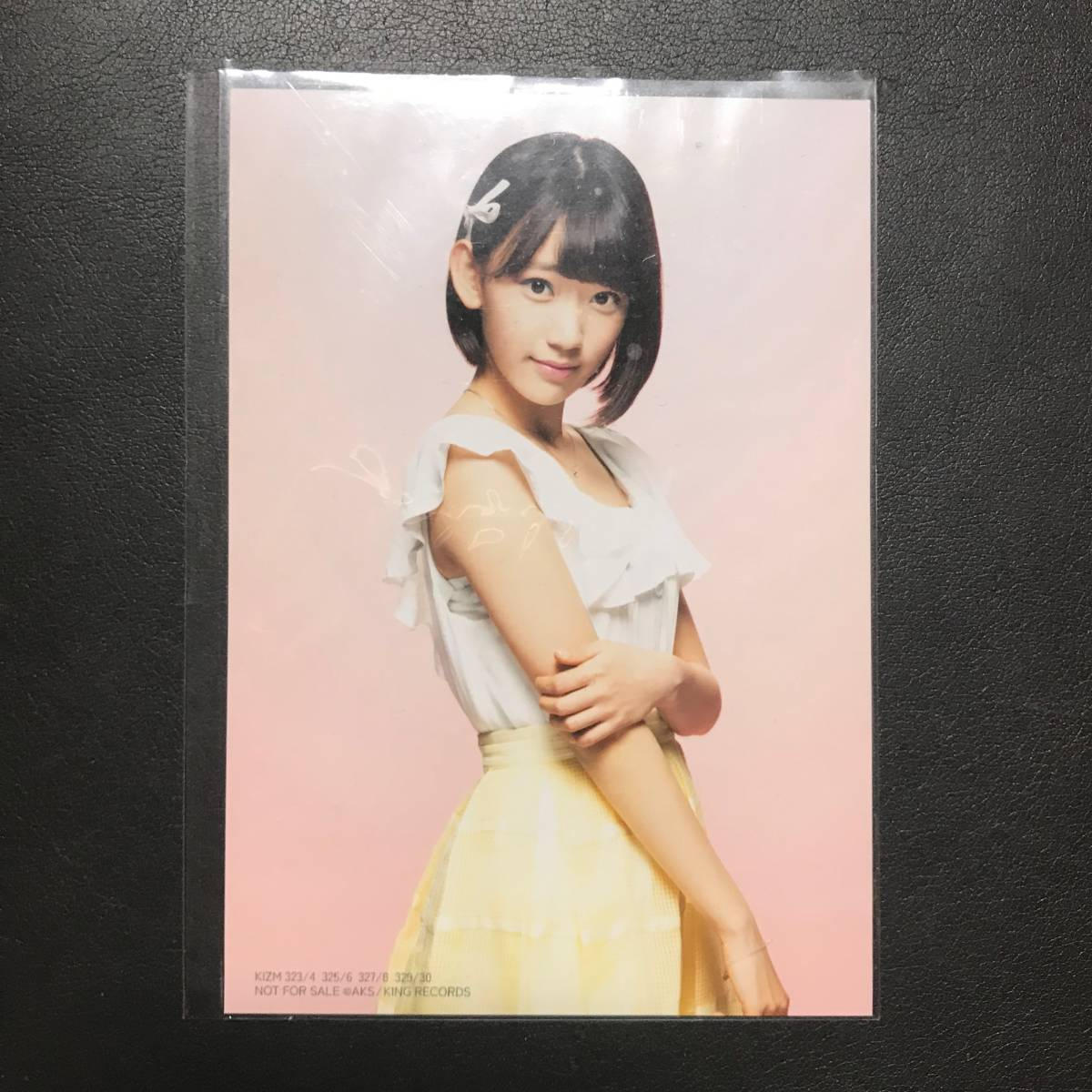 HKT48 宮脇咲良 AKB48 GreenFlash 通常盤 生写真