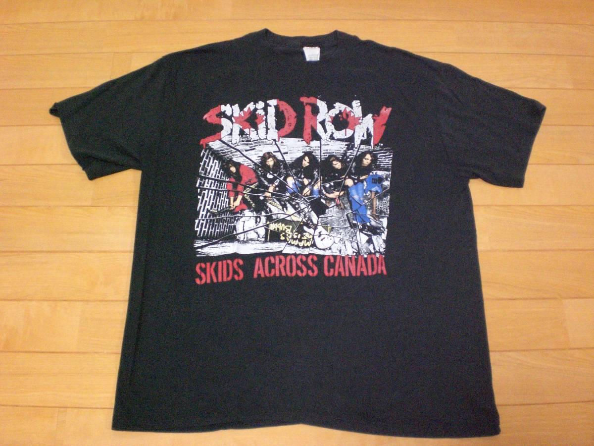 当時物 ビンテージ 80s 90's SKID ROW スキッドロウ Tシャツ SLAYER BEASTIE BOYS GUNS N ROSES METALLICA PANTERA NIRVANA BON JOVI_画像1