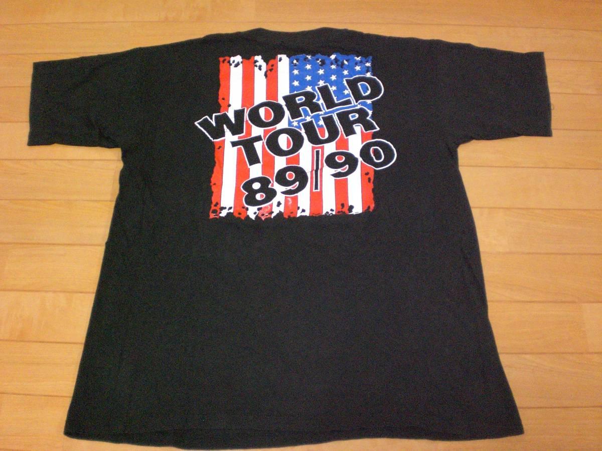 当時物 ビンテージ 80s 90's SKID ROW スキッドロウ Tシャツ SLAYER BEASTIE BOYS GUNS N ROSES METALLICA PANTERA NIRVANA BON JOVI 2_画像2