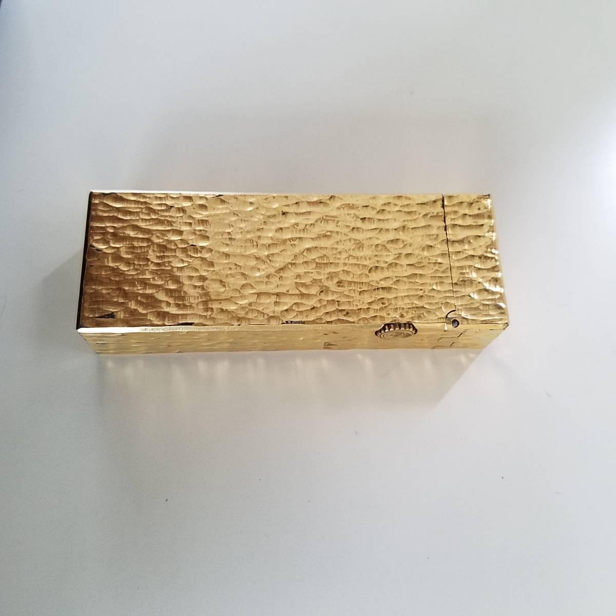 ダンヒル dunhill ゴールド 喫煙具 ライター 中古 _画像2