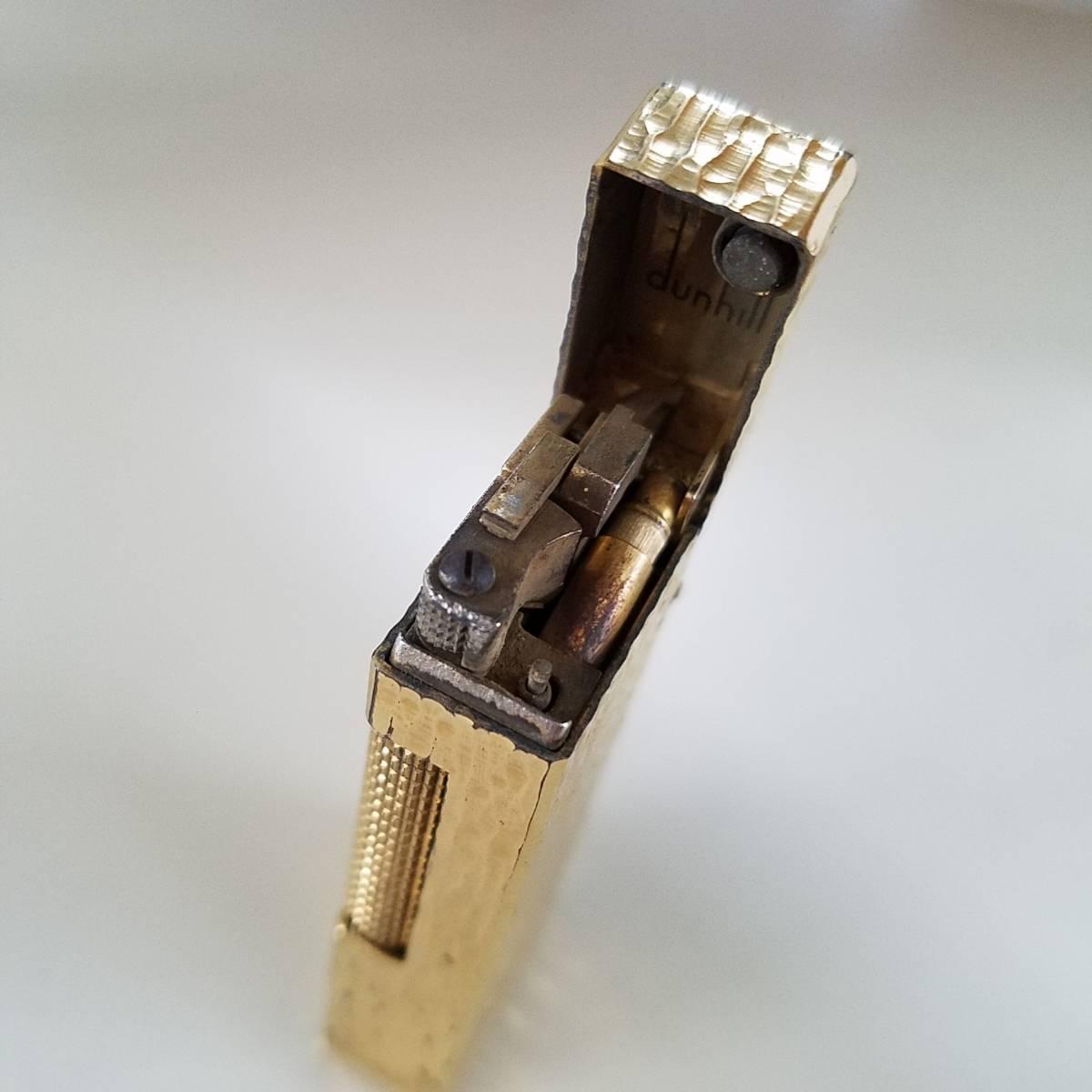 ダンヒル dunhill ゴールド 喫煙具 ライター 中古 _画像4