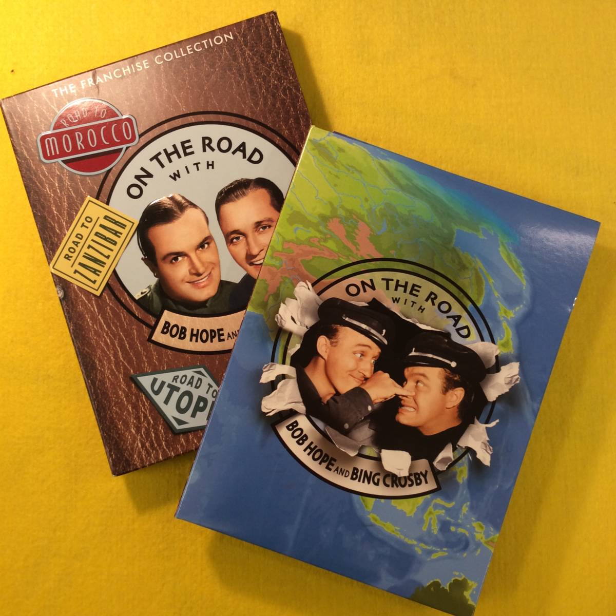 【DVD】珍道中シリーズ★ON THE ROAD with BOB HOPE and BING CROSBY★輸入盤・リージョン1★ボブ・ホープ/ビング・クロスビー★映画_画像4