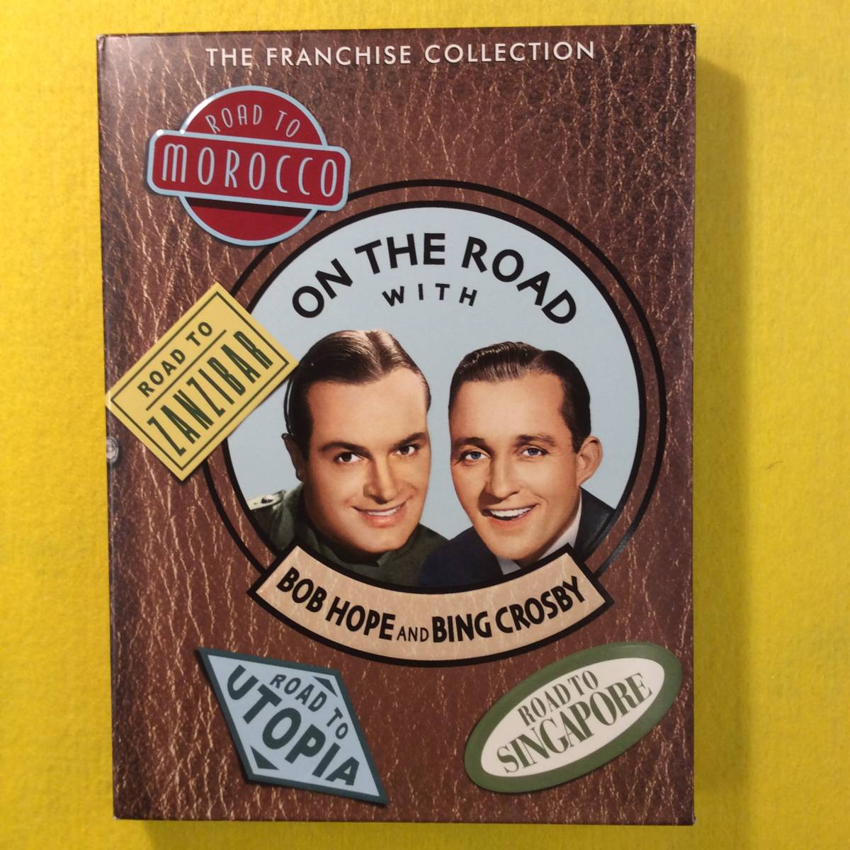 【DVD】珍道中シリーズ★ON THE ROAD with BOB HOPE and BING CROSBY★輸入盤・リージョン1★ボブ・ホープ/ビング・クロスビー★映画_画像1