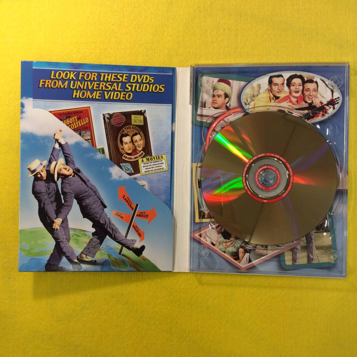 【DVD】珍道中シリーズ★ON THE ROAD with BOB HOPE and BING CROSBY★輸入盤・リージョン1★ボブ・ホープ/ビング・クロスビー★映画_画像5
