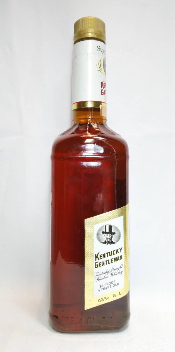 【全国送料無料】KENTUCKY GENTLEMAN 4years old ケンタッキージェントルマン4年 43度 750ml_画像5