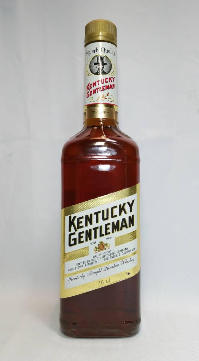 【全国送料無料】KENTUCKY GENTLEMAN 4years old ケンタッキージェントルマン4年 43度 750ml_画像2
